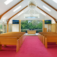Our beautiful chapel